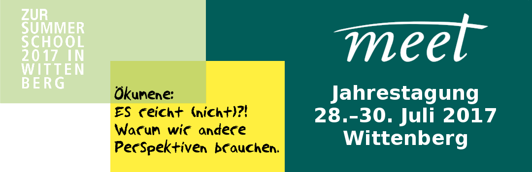 MEET-Jahrestagung in Wittenberg 🗓
