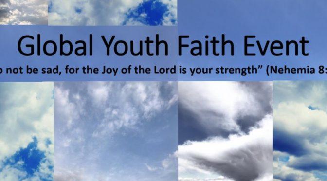 Global Youth Faith Event 🗓